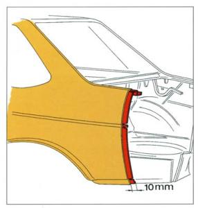 Reparación elementos de la carrocería